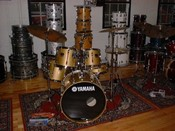 Yamaha Stage Custom Gold